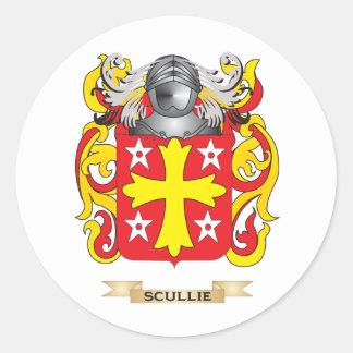 Escudo de armas de RachelScullie escudo de la fa Pegatinas