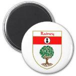 Escudo de armas de Rainey/escudo de la familia Imanes Para Frigoríficos