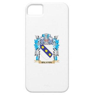 Escudo de armas de Ralston - escudo de la familia iPhone 5 Case-Mate Protectores