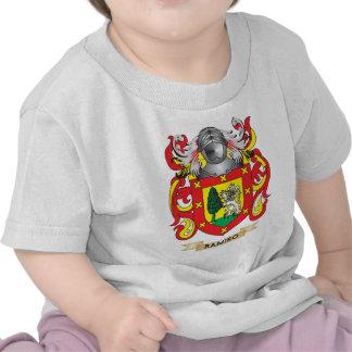 Escudo de armas de Ramiro (escudo de la familia) Camisetas