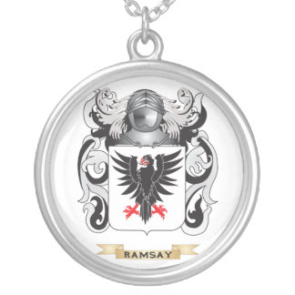 Escudo de armas de Ramsey (escudo de la familia) Colgante Redondo