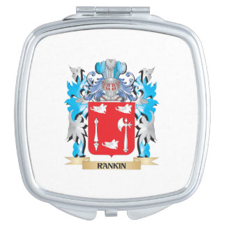 Escudo de armas de Rankin - escudo de la familia Espejo De Viaje