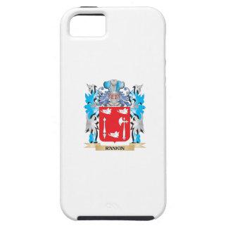 Escudo de armas de Rankin - escudo de la familia iPhone 5 Protector