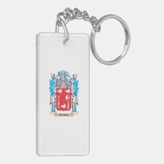 Escudo de armas de Rankin - escudo de la familia Llavero Rectangular Acrílico A Doble Cara
