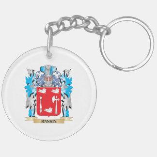 Escudo de armas de Rankin - escudo de la familia Llavero Redondo Acrílico A Doble Cara