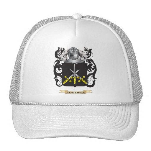 Escudo de armas de Rawlings (escudo de la familia) Gorro De Camionero
