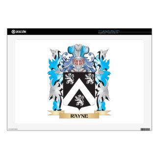 Escudo de armas de Rayne - escudo de la familia Calcomanías Para Portátiles