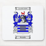 Escudo de armas de Raynolds Alfombrillas De Ratón
