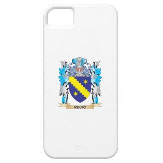 Escudo de armas de Recio - escudo de la familia iPhone 5 Protectores