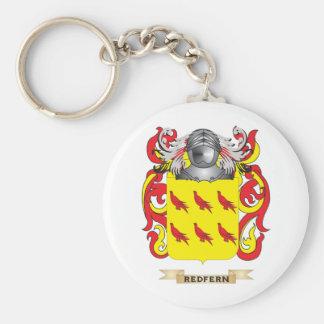 Escudo de armas de Redfern (escudo de la familia) Llavero Redondo Tipo Pin