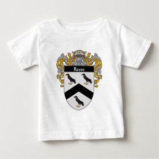 Escudo de armas de Reese (cubierto) Playera De Bebé