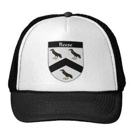 Escudo de armas de Reese/escudo de la familia Gorro