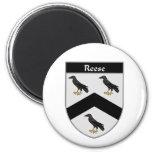 Escudo de armas de Reese/escudo de la familia Iman De Nevera