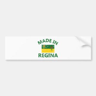 Escudo de armas de Regina Pegatina Para Auto
