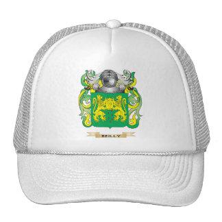 Escudo de armas de Reilly (escudo de la familia) Gorros Bordados