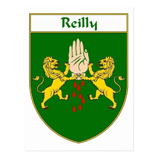 Escudo de armas de Reilly Postal