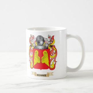 Escudo de armas de Rennie escudo de la familia Tazas De Café