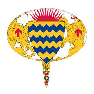 Escudo de armas de República eo Tchad Decoración Para Tarta