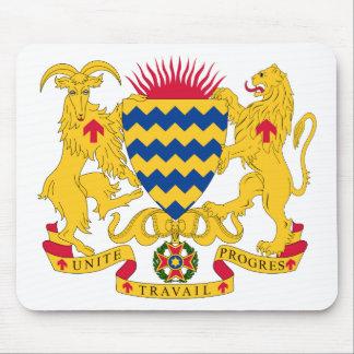 Escudo de armas de República eo Tchad Alfombrilla De Ratón
