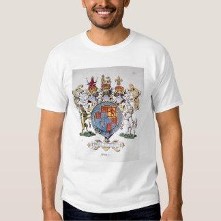 Escudo de armas de rey James I de Inglaterra Playera