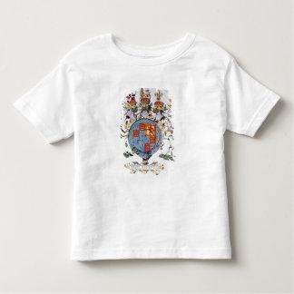 Escudo de armas de rey James I de Inglaterra Remera