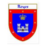 Escudo de armas de Reyes/escudo de la familia Postales