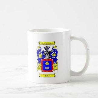 Escudo de armas de Reyes Taza Clásica