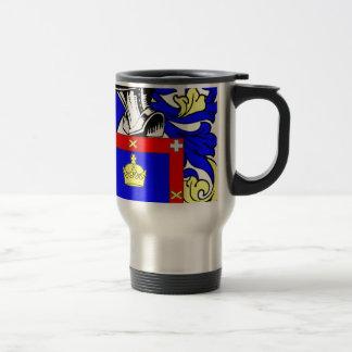 Escudo de armas de Reyes Taza Térmica