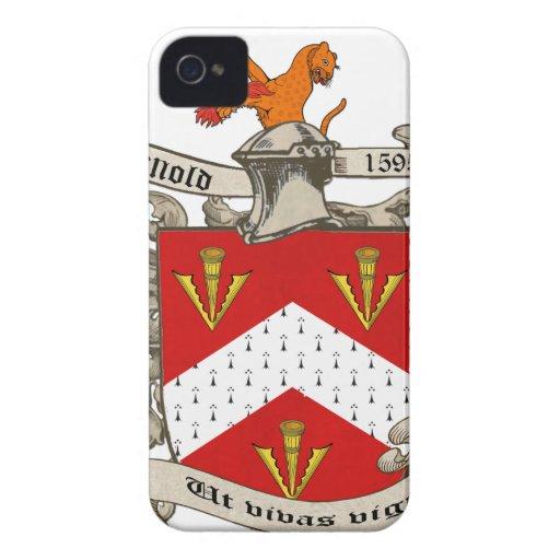 Escudo de armas de Richard Arnold de Dorset, Ingla Case-Mate iPhone 4 Coberturas