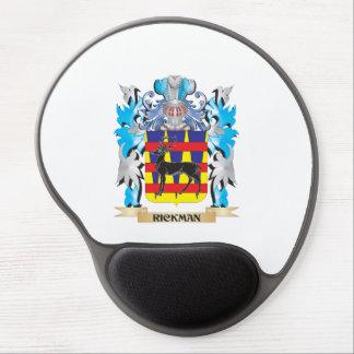 Escudo de armas de Rickman - escudo de la familia Alfombrillas De Raton Con Gel