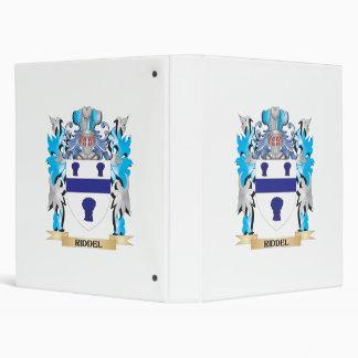 Escudo de armas de Riddel - escudo de la familia