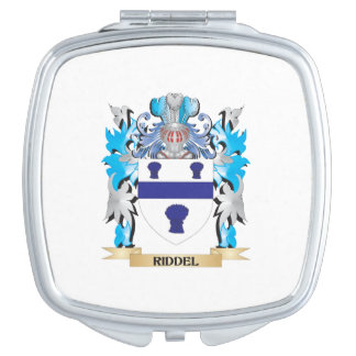 Escudo de armas de Riddel - escudo de la familia Espejo De Maquillaje