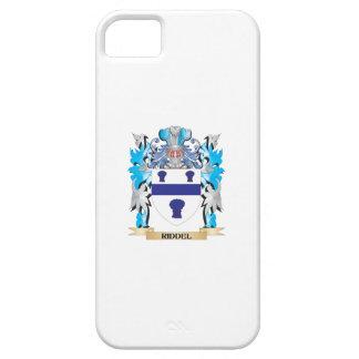 Escudo de armas de Riddel - escudo de la familia Funda Para iPhone 5 Barely There