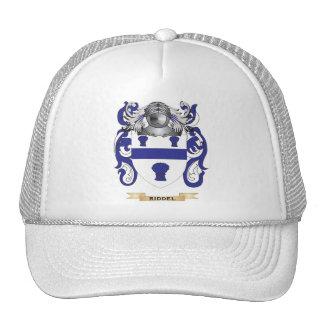 Escudo de armas de Riddel escudo de la familia Gorras De Camionero