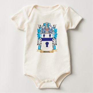 Escudo de armas de Riddel - escudo de la familia Trajes De Bebé