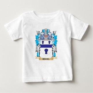 Escudo de armas de Riddel - escudo de la familia Playera Para Bebé