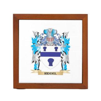 Escudo de armas de Riddel - escudo de la familia Portalápices