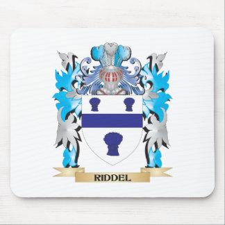 Escudo de armas de Riddel - escudo de la familia Alfombrilla De Ratón