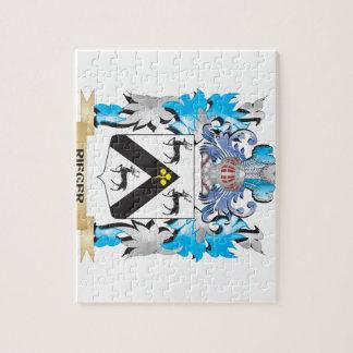 Escudo de armas de Rieger - escudo de la familia Puzzle Con Fotos