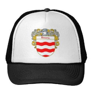 Escudo de armas de Rivera (cubierto) Gorras De Camionero
