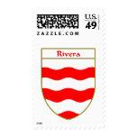 Escudo de armas de Rivera/escudo de la familia Sellos