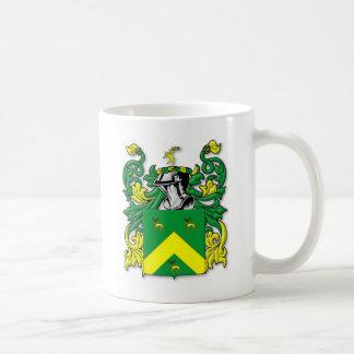 Escudo de armas de Robinson Tazas De Café