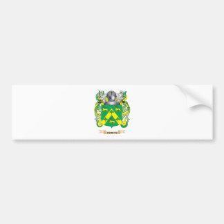 Escudo de armas de Robyn (escudo de la familia) Pegatina Para Auto