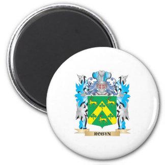 Escudo de armas de Robyn - escudo de la familia Imán De Nevera