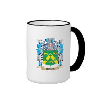 Escudo de armas de Robyn - escudo de la familia Taza A Dos Colores