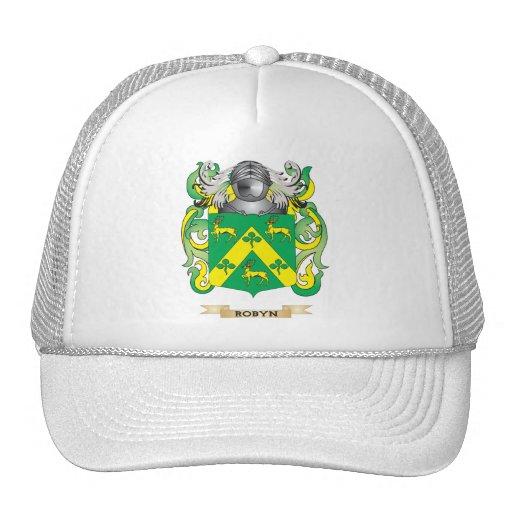 Escudo de armas de Rocco (escudo de la familia) Gorras De Camionero