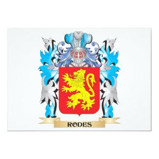 Escudo de armas de Rodes - escudo de la familia Anuncios Personalizados