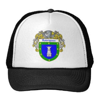 Escudo de armas de Rodriguez (cubierto) Gorras De Camionero