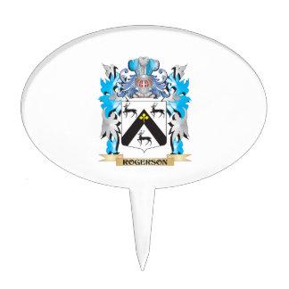 Escudo de armas de Rogerson - escudo de la familia Decoraciones Para Tartas