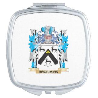 Escudo de armas de Rogerson - escudo de la familia Espejos De Viaje